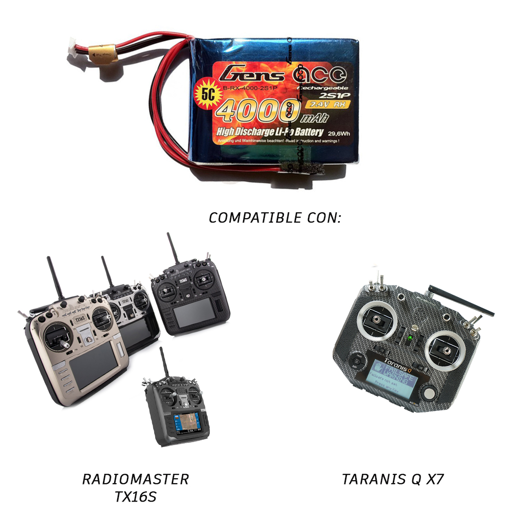 bateria gens ace 4000mah RADIOMASTER Y TARANIS QX7