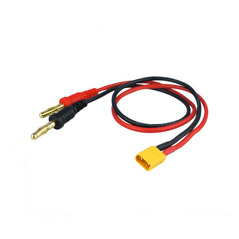 Cable-de-carga-XT30-conector-banana-de-4.0-mm-30cm