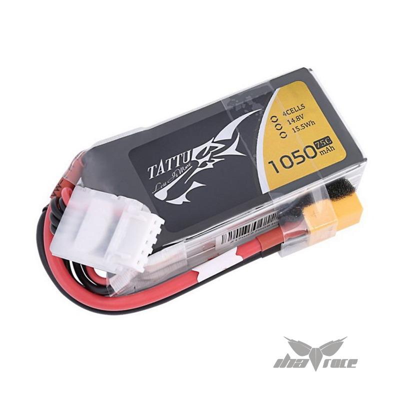 Baterías Tattu 1050 mAh 14.8V 75C 4S1P Lipo Oferta