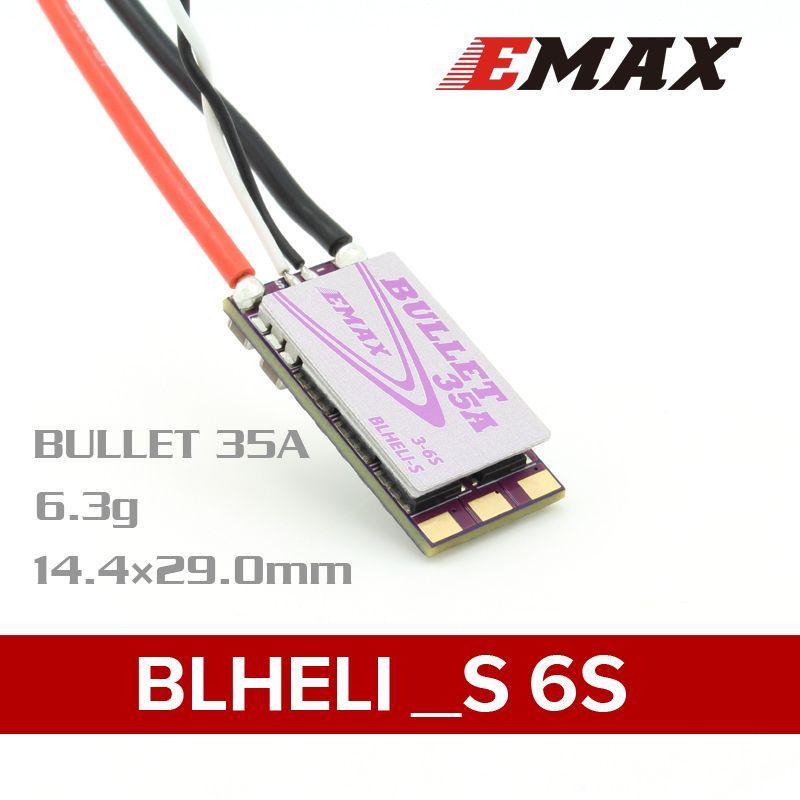 EMAX BLHELI_S Bullet Series 35A 3-6S ESC
