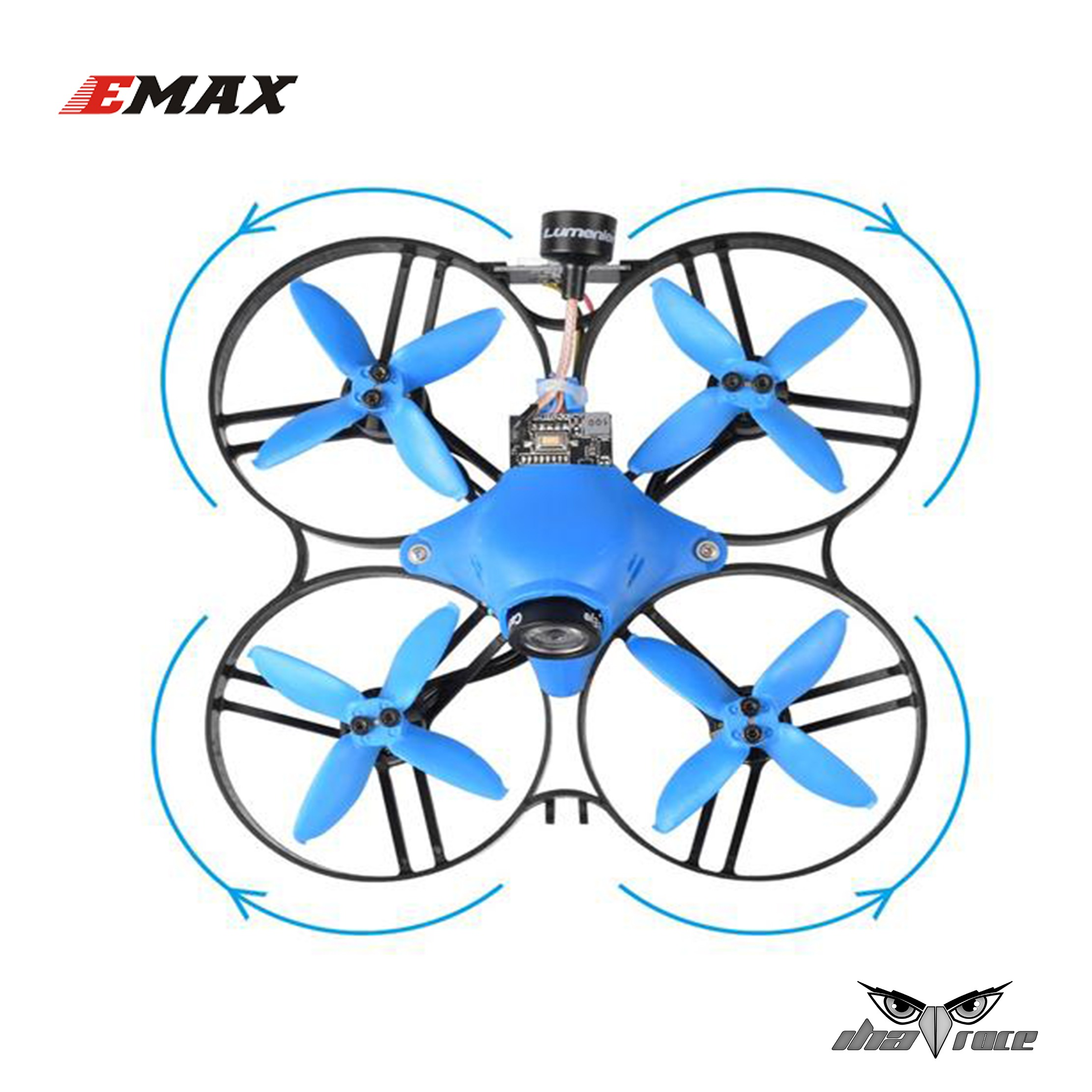 """Hélices Emax 2"""" 4 Palas (Eje 1.5 mm)"""