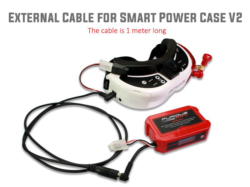 FuriousFPV - Cable Externo para  Smart Power Case V2