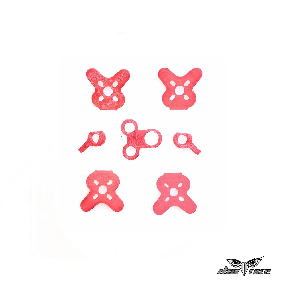 comprar piezas 3d repuesto one mini x2 frame dron fpv rojo más baratas