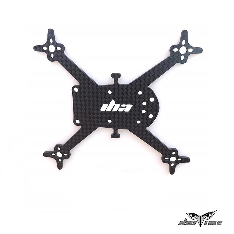 comprar plato inferior fibra de carbono dron one x2 110mm fibra de carbono
