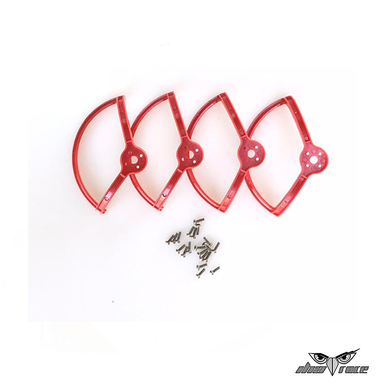 protector salva helices dron carreras fpv one x2 rojo mas baratas