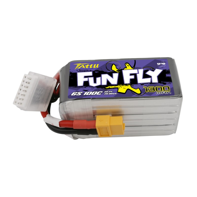 comprar Tattu Funfly Series 1300mAh 22.2V 100C 6S1P Lipo Battery Pack with XT60 plug mas barata
