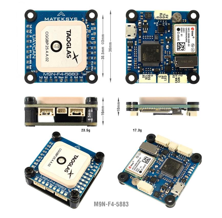comprar mejor precio GPS + F4 Matek GNSS M9N-F4-5883